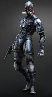 Squre Enix Play Arts Arts Metal Gear Solid 2: Sons of Liberty Raiden Figure