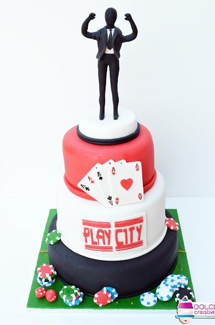 Torta poker e slot