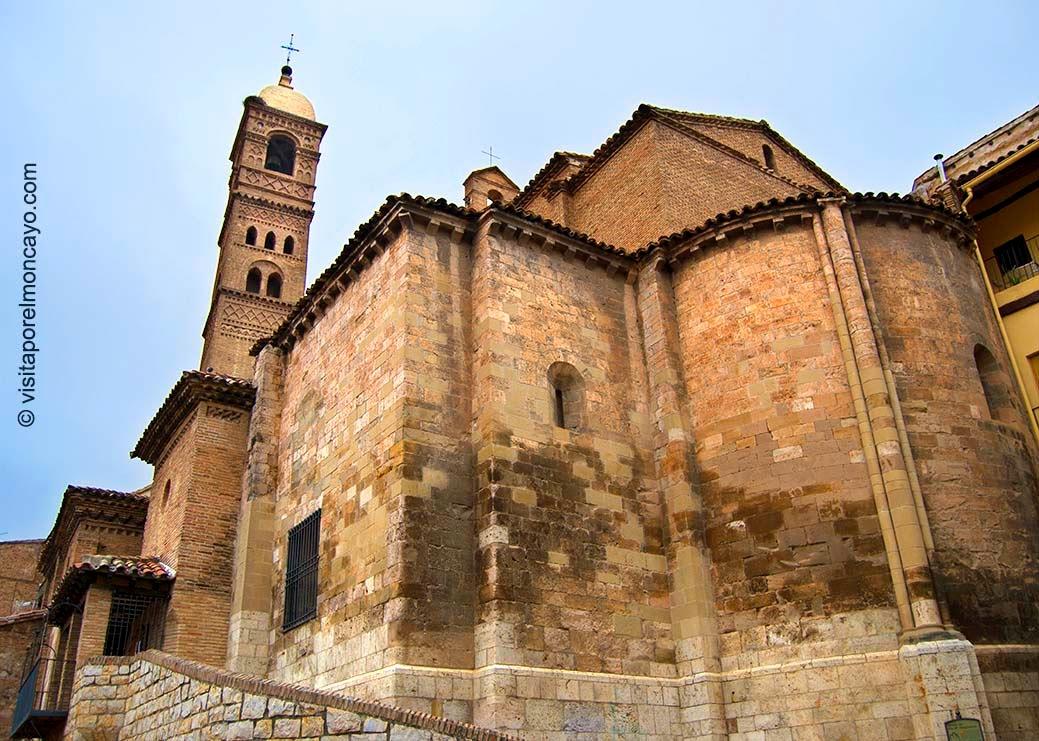 Iglesia Santa María Magdalena Tarazona Romanico Mudéjar Aragonés
