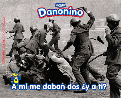 Jaime Pato, Danone, anuncio