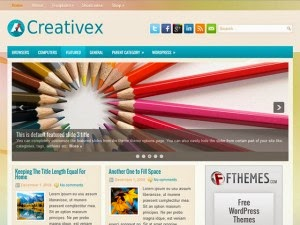 Creativex - Free Wordpress Theme