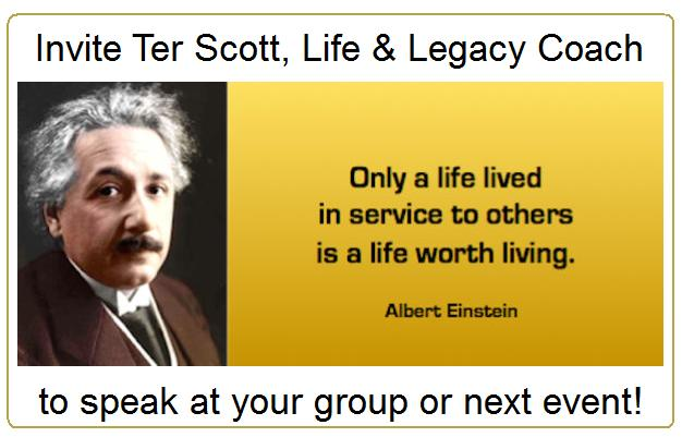 Ter Scott is Available for Keynotes and Seminars