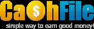 Mencari uang tanpa blog dengan cashfile