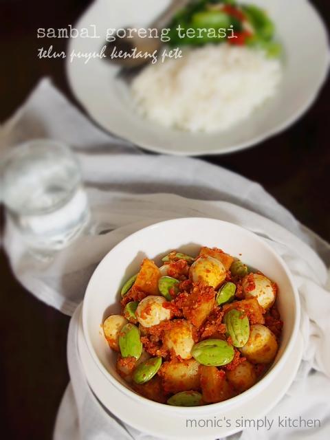 resep sambal goreng pete kentang