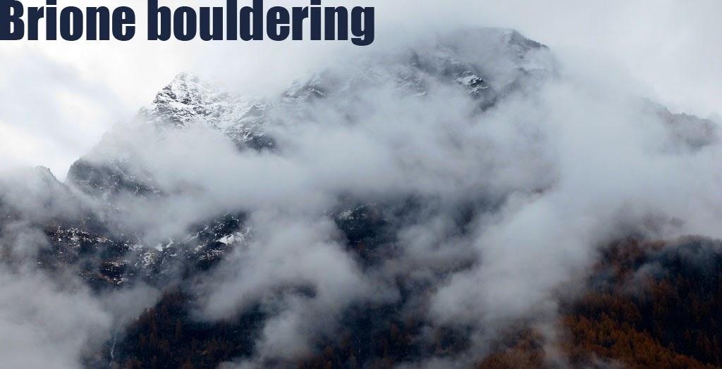 Brione bouldering