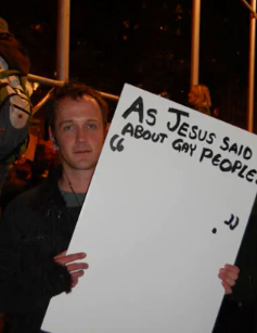 I'm sure this response to gay marriage supporters sounds clever to the ...