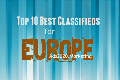 Top 10 Best Classifieds Advertising Web Sites for Europe in 2018-19 ...