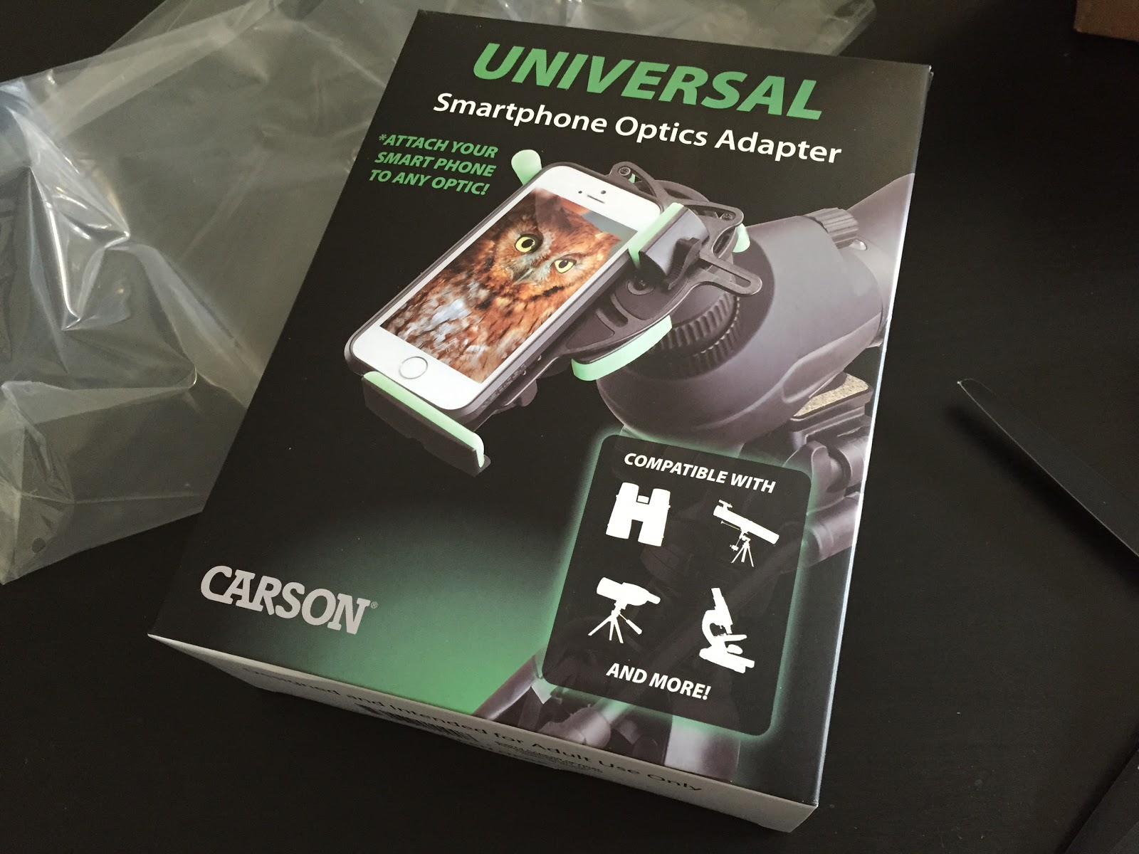 carson universal package front