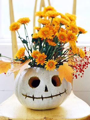 JackOLantern Halloween vase from BHG.com