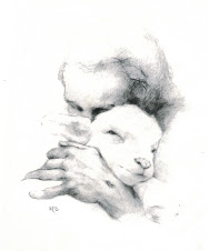 "Katherine Brown's ""Jesus & the Lamb"""