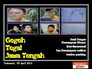 ANAK INDIGO 28 ( VERSI GEGEH  - TEGAL  - JAWA TENGAH)