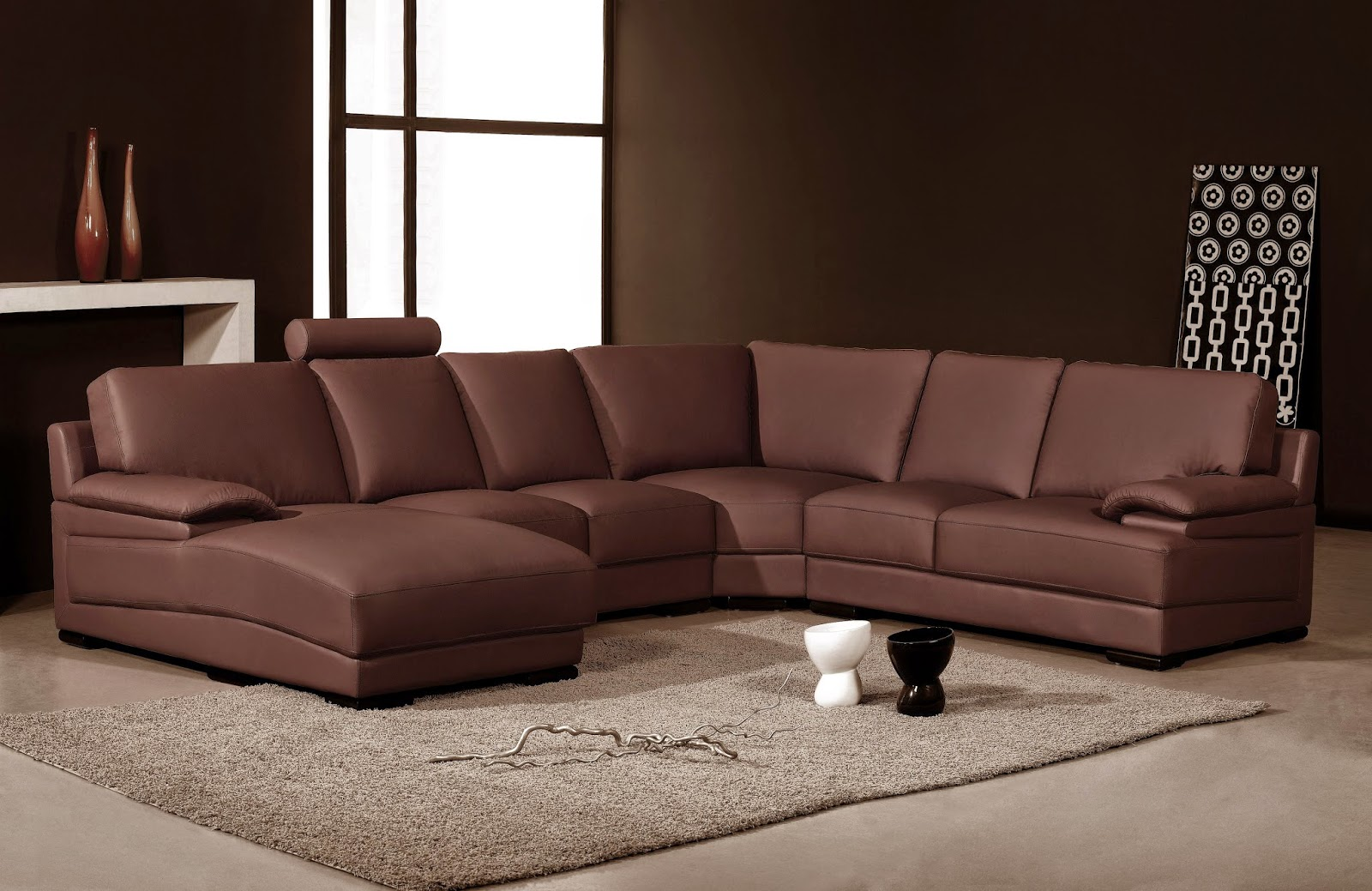 Living Room Decor Ideas Brown Leather Sofa sectional leather sofa. microfiber reclining sectional sofa. full