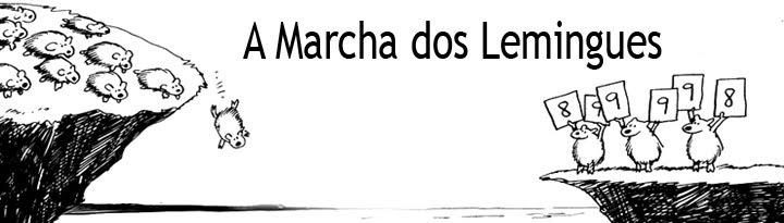 A Marcha dos Lemingues