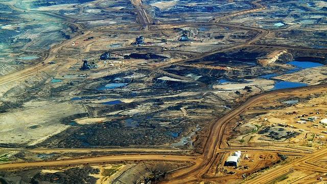 The Alberta tar sands.
