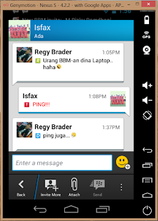 Blackberry Messenger (BBM) di Komputer