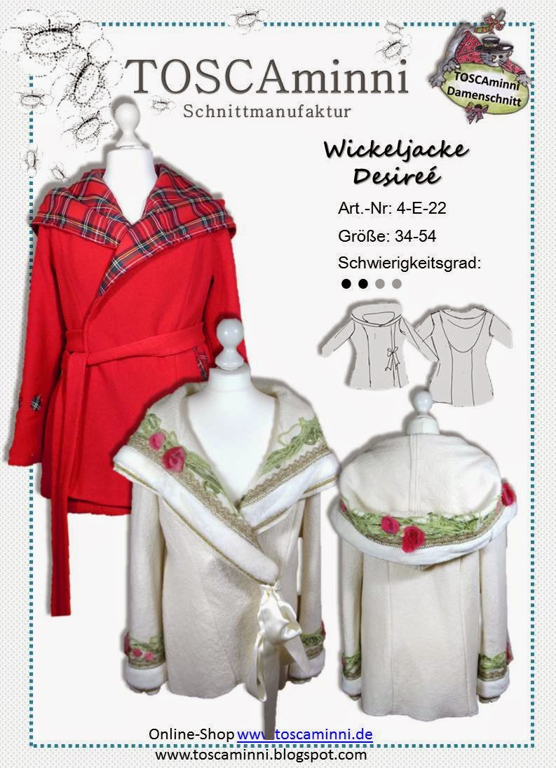 Wickeljacke Desireé Gr. 34-54