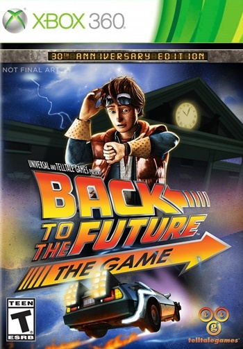 Back To The Future XBOX 360