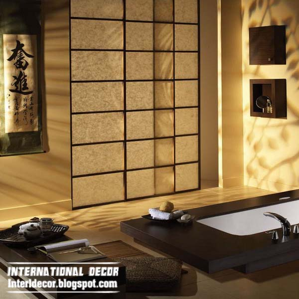 How to create a bathroom in the Japanese-style rules + 42 photo ...