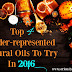 Top 4 Under-represented Natural Oils To Try In 2016