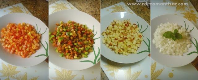 Receita Salada Marroquina R de Romantizar