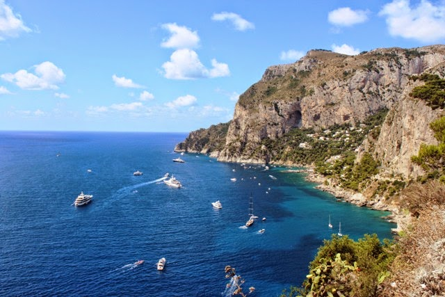 Capri, Amalfi coast, panorama