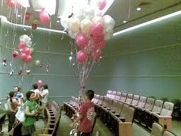 balon gas indoor