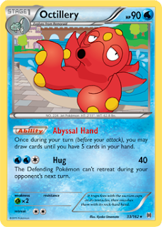 Octillery BREAKthrough Pokemon Card