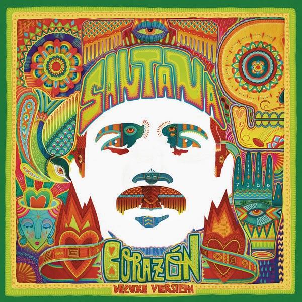 Santana - Corazón (Deluxe Version) Cover