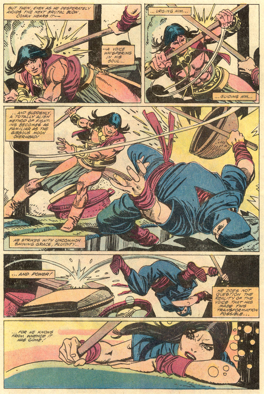 Conan the Barbarian (1970) Issue #130 #142 - English 9