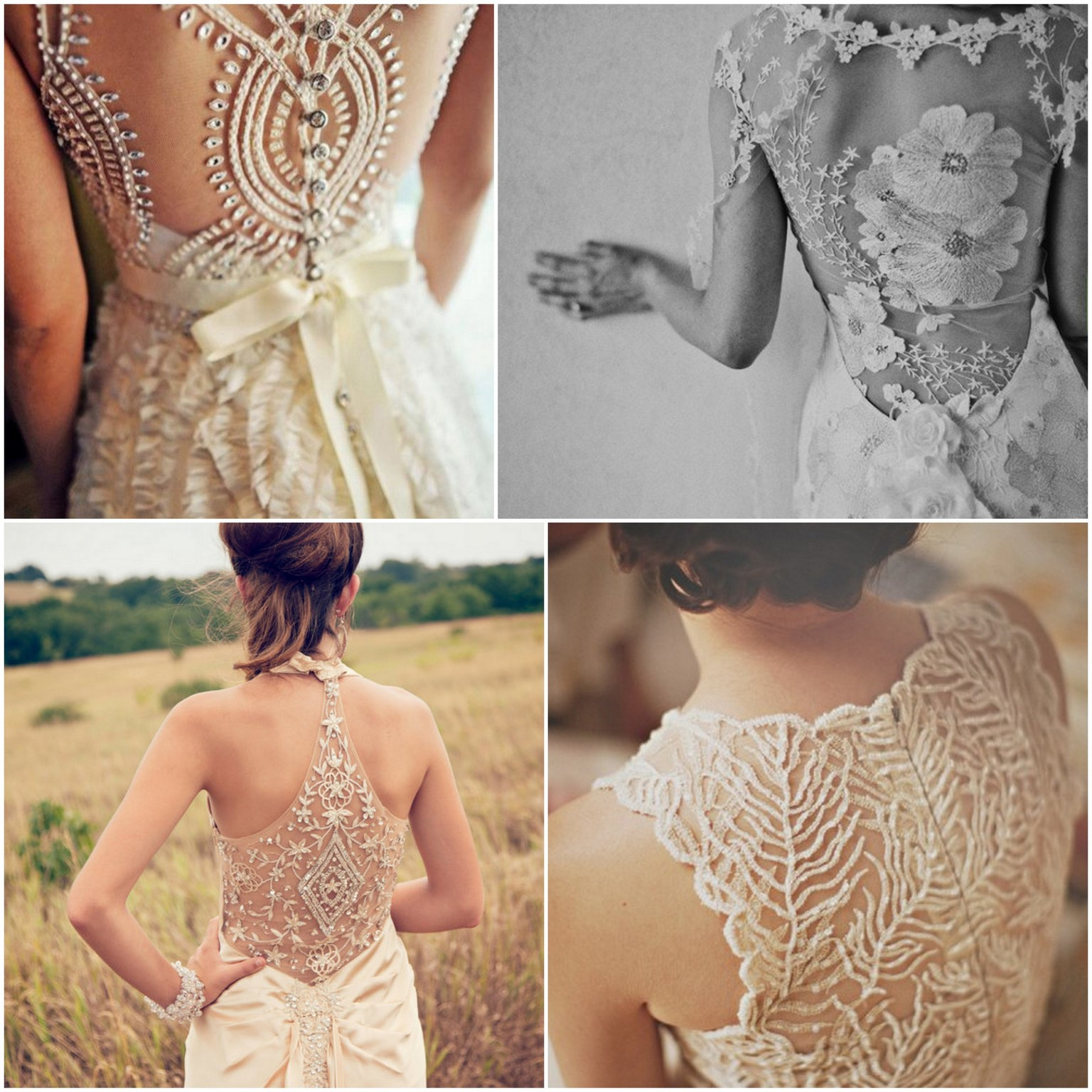 Antique Lace Wedding Dresses