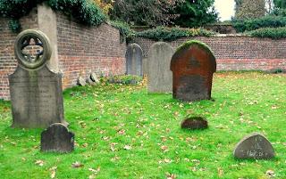 Churchyard at Himley