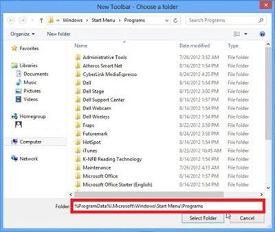 Cara Mudah Menampilkan All Program Pada Windows 8