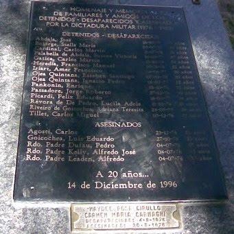 Placa de la Memoria