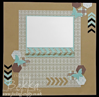 Sweater Weather Chevron Fun Scrapbook Start Point - check this blog for lots of fun ideas
