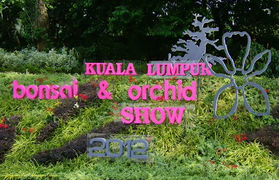KL Bonsai and Orchid Exhibition sign