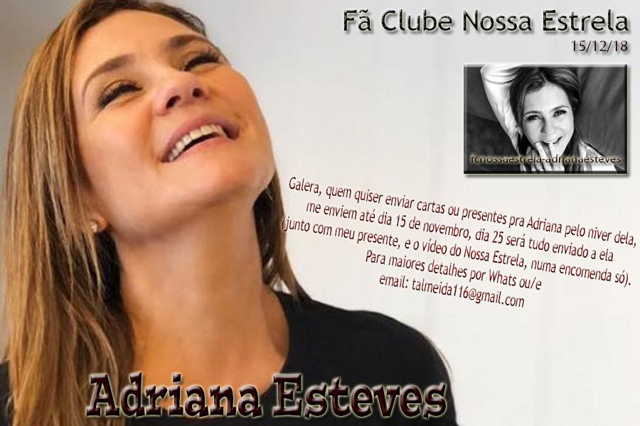 Fã Clube Nossa Estrela Adriana Esteves - fcnossaestrela-adrianaesteves.com