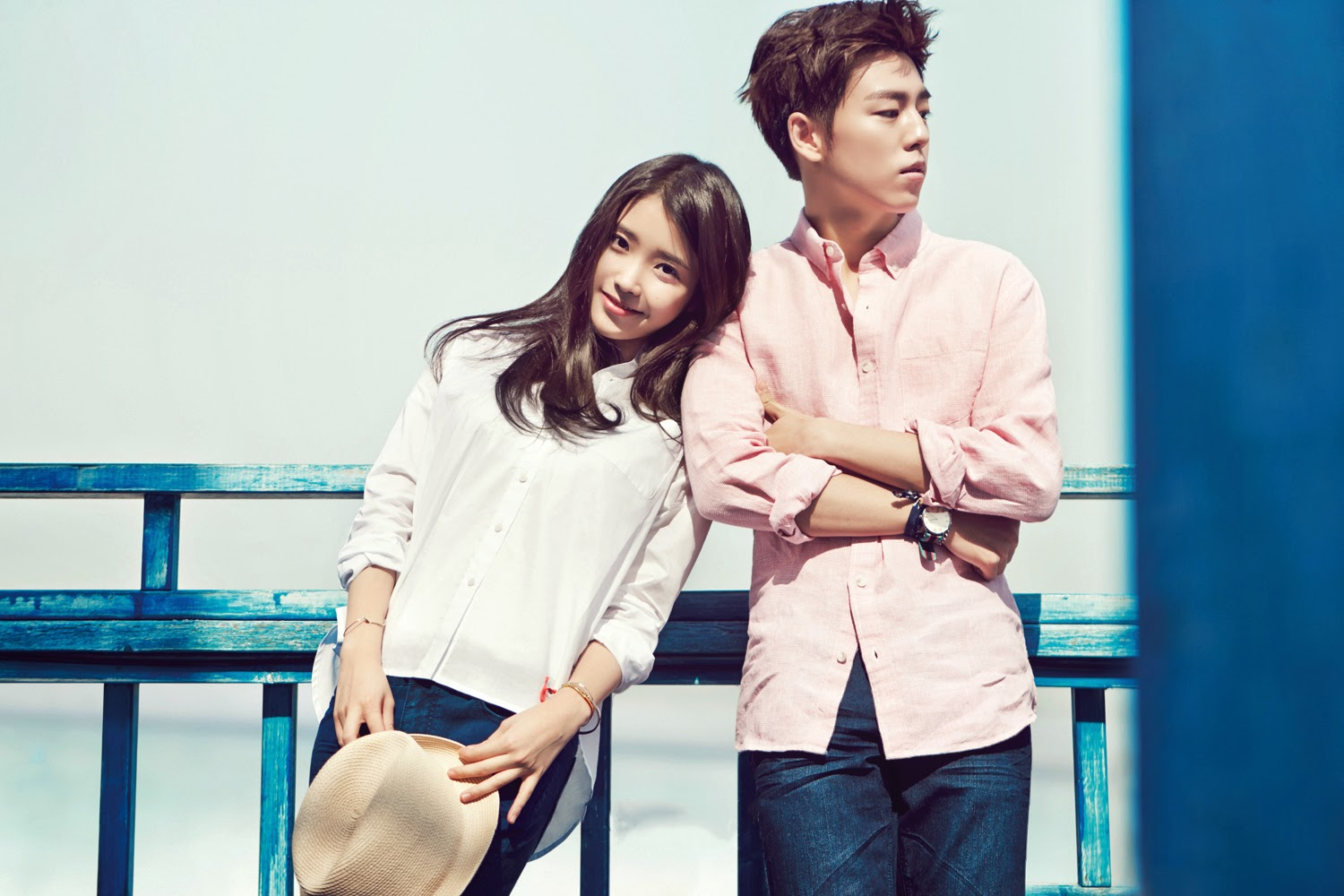 Lee Hyun Woo and IU are a refreshing summer couple for