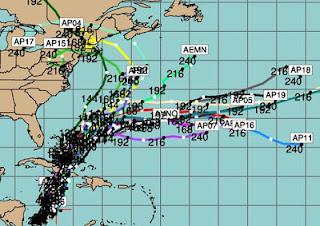 Zieht Tropensturm SANDY als starker Hurrikan nach New York?, Sandy, Vorhersage Forecast Prognose, Oktober, 2012, Atlantische Hurrikansaison, USA, US-Ostküste Eastcoast, New York, New Jersey, Neu-England New England, Hurrikansaison 2012,