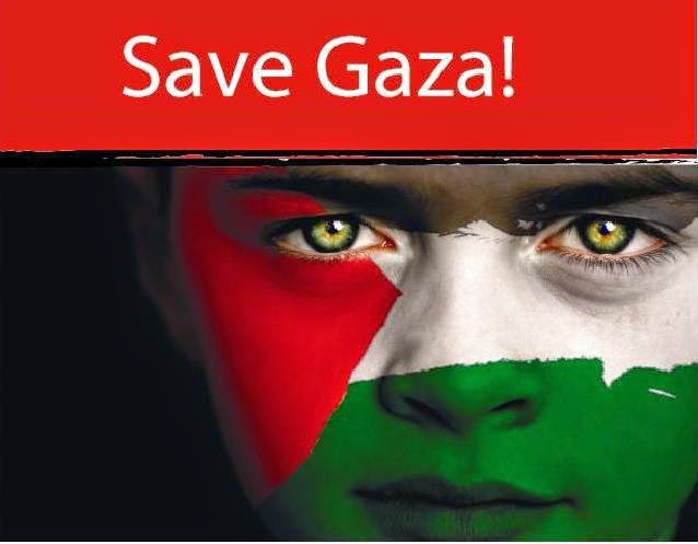 save gaza now