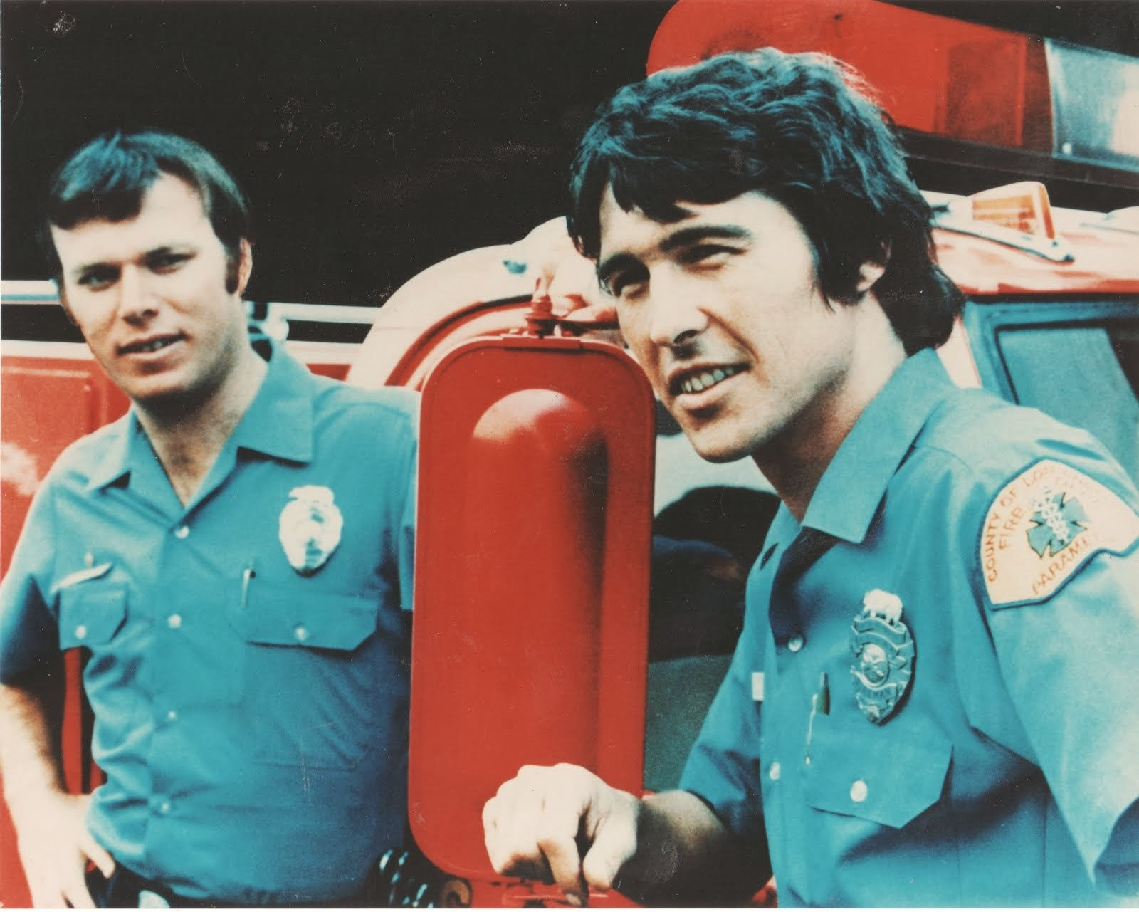 Thomas Q Kimball Fan Of Emergency Squad 51 with Randolph Mantooth and Kevin Tighe