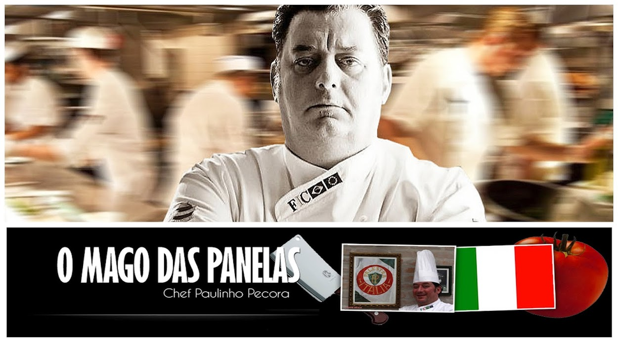 O Mago das Panelas, O Blog do Chef Paulinho Pecora