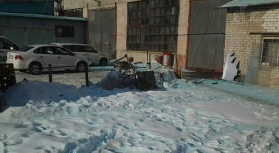 Salju Berwarna Biru di Rusia