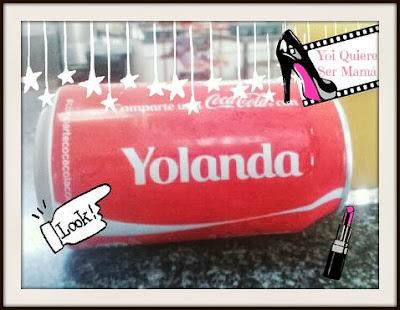 Coca-cola con nombre