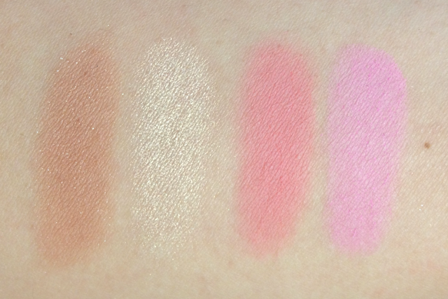 tarte Holiday 2012 Fantastic Foursome 4-Piece Amazonian Clay Blush Enthusiast Set swatches