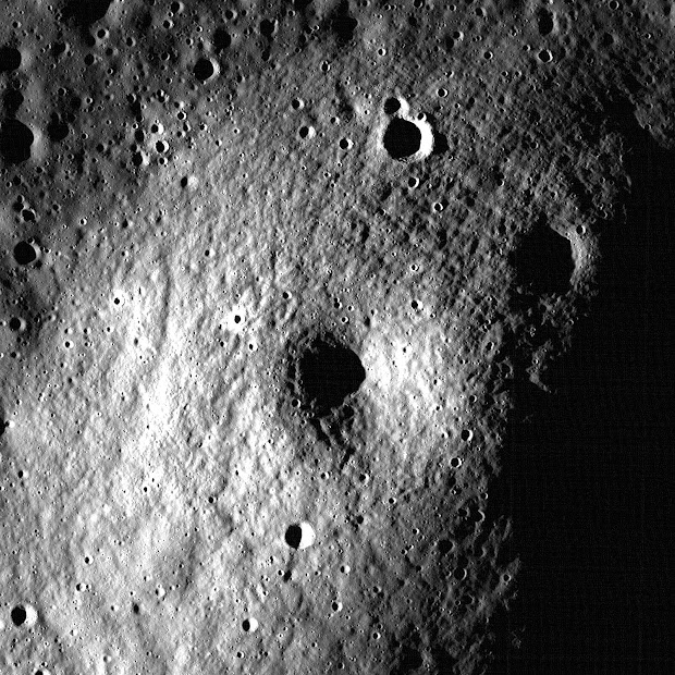 NASA's LROC captures a possible Volcano on the Moon