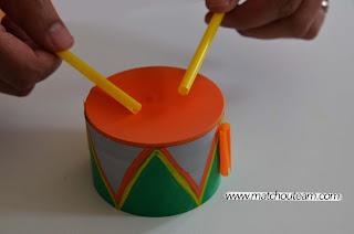 DIY tambours
