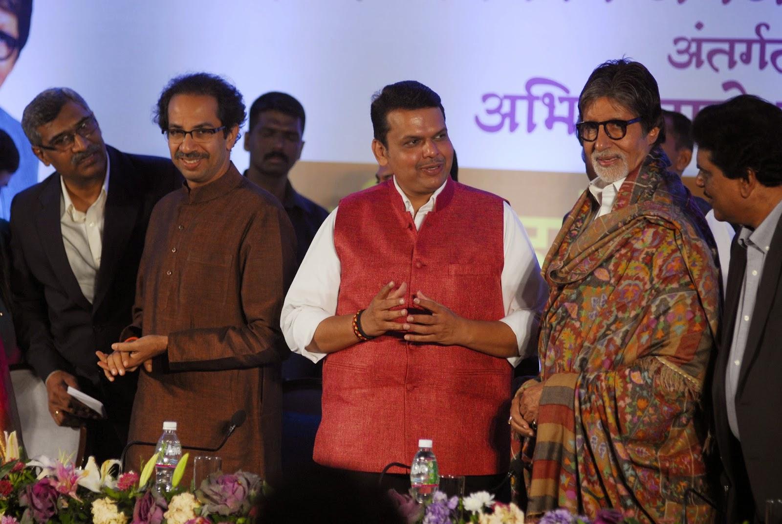 Amitabh Bachchan launches 'TB Harega Desh Jeetega' campaign at Maharashtra
