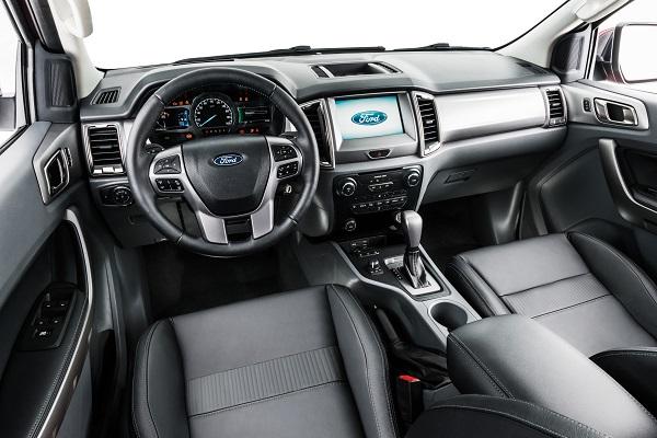 Ford reveló en Pinamar el interior de la nueva Ranger