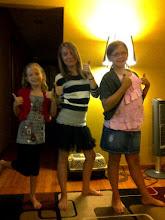 Rachel, Brooke, and Kelsey