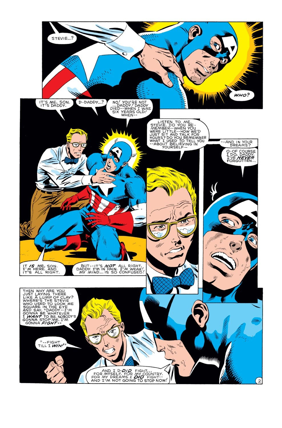 Captain America (1968) Issue #282 #198 - English 3